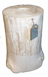 whitewash  stam voor waxinelichtje