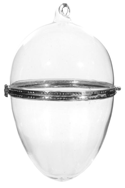 Glazen hanger, 12 cm