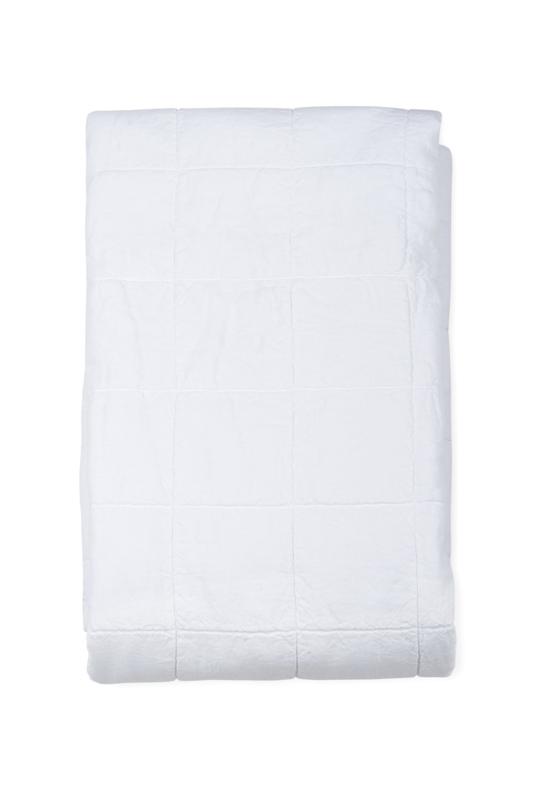Nice, luxe stonewashed linnen sprei , White