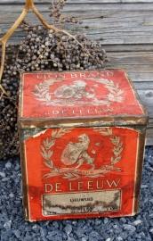 """Antiek winkelblik """"de Leeuw"""" biscuits Dordrecht"""