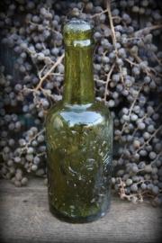 Antieke Engelse bierfles 1900-1910