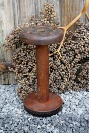 Grote oude houten klos