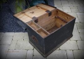 Antieke gereedschapskist