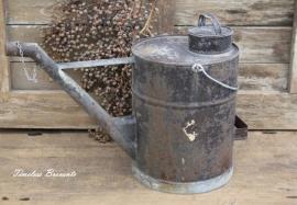 Oude industriële oliekan (10 liter)