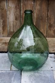 Decoratieve oude gistfles/wijnfles