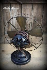 Antieke Isaria (tafel)ventilator (periode 1909-1927)