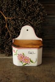 Brocante oude zoutpot