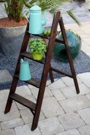 Oude houten trap