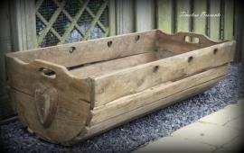 Oude Franse houten wieg/kribbe