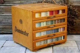 Dominator fourniturenkastje/garenkastje