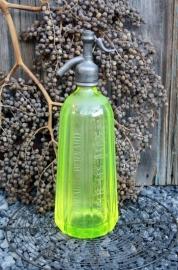Franse spuitfles uraniumglas (nr.1)