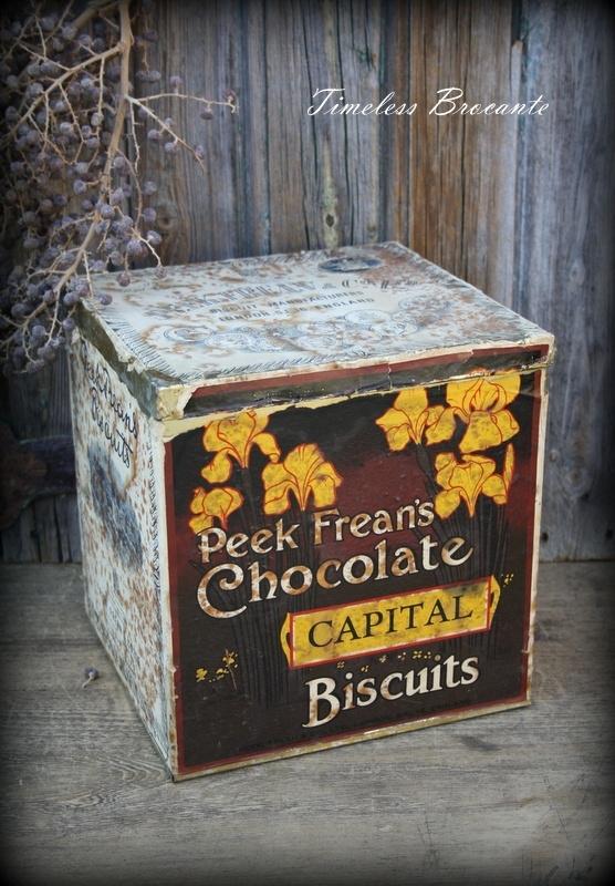 Oud Peek Frean's Biscuits winkelblik