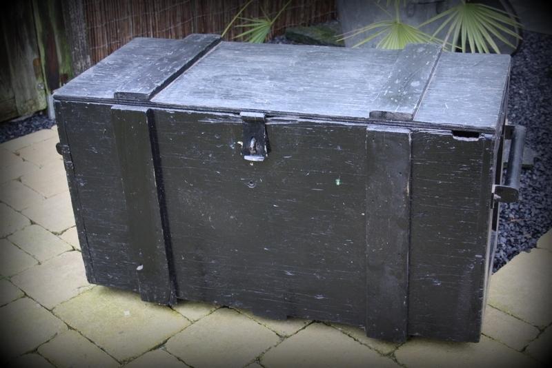 Wonderbaarlijk Stoere industriële houten kist XXL | Verkocht | Timeless Brocante HN-65