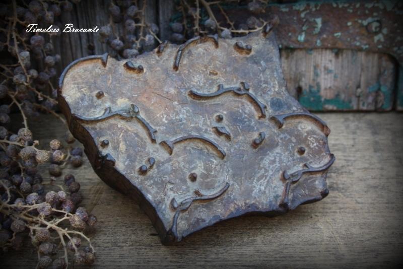 Oude Indonesische batik stempel (nr.2)