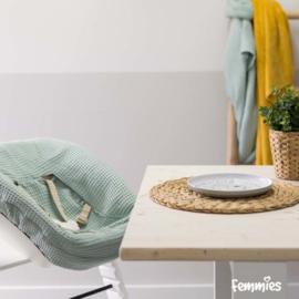 Newbornhoes oud groen wafel