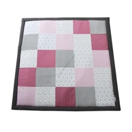 Speelkleed oud roze - geo
