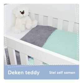 Deken teddy: stel zelf samen