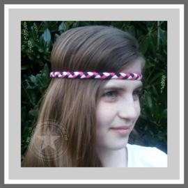 Gevlochten haarband 3 stuks