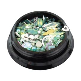 Jewelry Box Opal Green *056095