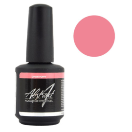 Aquarelle effect gelpolish | Opium Poppy