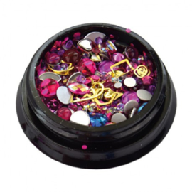 Jewelry Box Hot Pink *056156