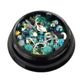 Jewelry Box Turquoise *056200