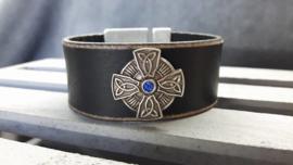 Celtic Cross Black & Blue