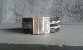 "PROUD! armband ""Lammy""  zwart/blauw"