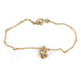 Armband met Herkimer diamant