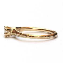 Forest ring met diamant GERESERVEERD