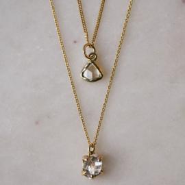 Collier met diamant