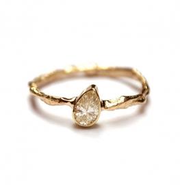 Verfijnde diamant ring