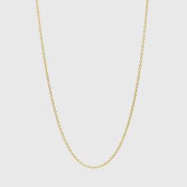 Losse ankerketting geelgoud 1,1 mm | 42 - 45 - 50 cm