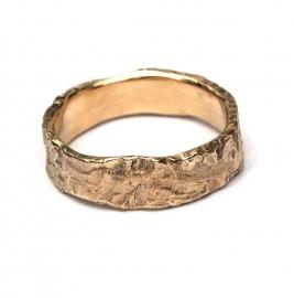 Matte ruwe ring