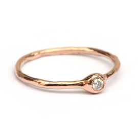 Millie ring met diamant