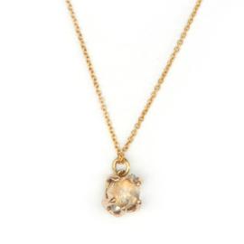 Collier met Herkimer diamant