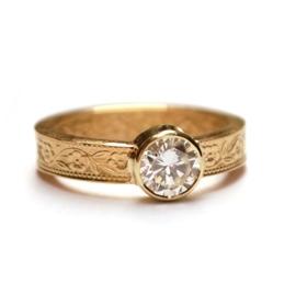 Ring met diamant