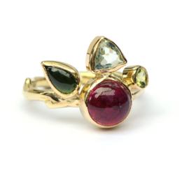 Edelstenen ring