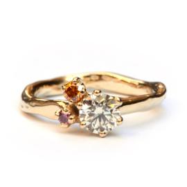 Ring Abbey fancy pink