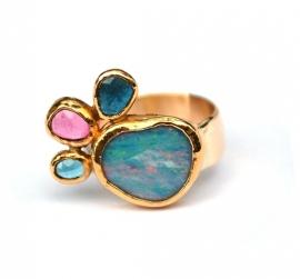 Ring met opaal