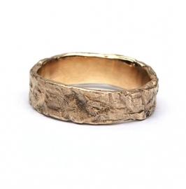 Matt rough ring