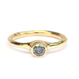 Ring met galaxy diamant