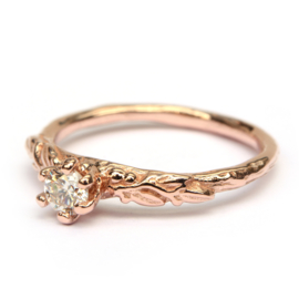 Ring Amélie in roségoud