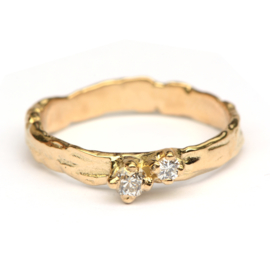 Farah ring met diamanten
