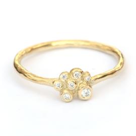 Ring Scarlet met diamanten