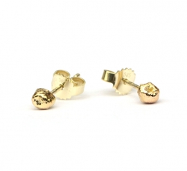 Gouden rotsjes oorstekers