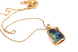 Collier met opaal