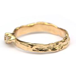 Farah ring met diamanten