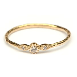 Ring Ella met diamantjes
