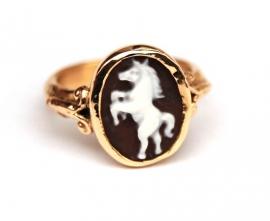 Ring met paardje